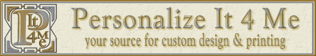 Personalize It 4 Me header image