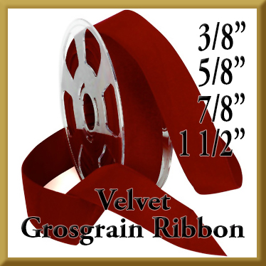 017 Velvet Grosgrain Product Image