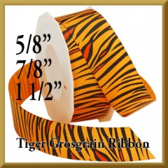 052 Tiger Grosgrain Product Image