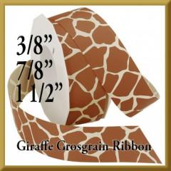 057 Giraffe Grosgrain Product Image