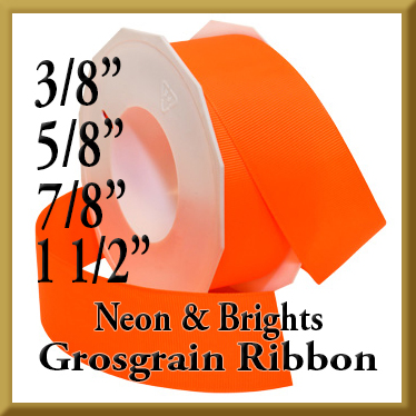 067 Neon and Brights Grosgrain Product Image