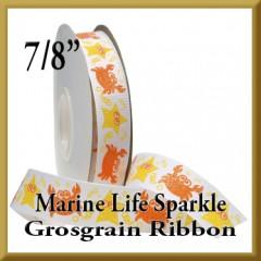 7521 Marine Life Sparkle Glitter Grosgrain Product Image