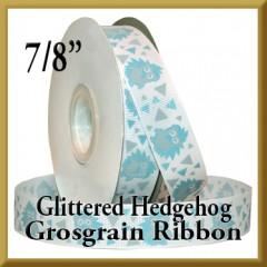 7524 Glittered Hedgehog Grosgrain Product Image