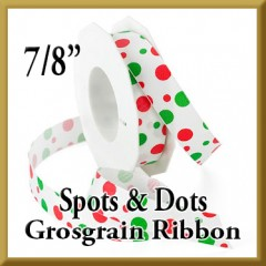 808 Spots and Dots Grosgrain Product Image