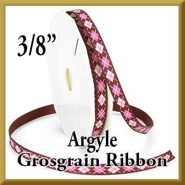 898 Argyle Grosgrain Product Image