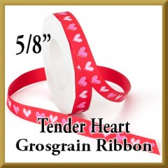922 Tender Heart Grosgrain Product Image