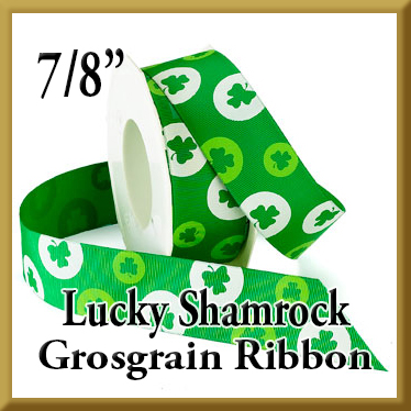 942 Lucky Shamrock Grosgrain Product Image