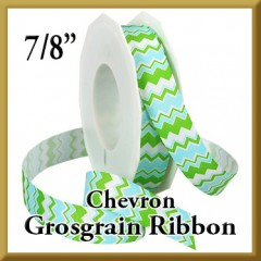980 Chevron Grosgrain Ribbon Product Image