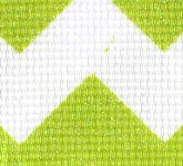981-027 Lime Sugar Chevron Glitter Grosgrain Ribbon