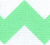 981-036 Mint Sugar Chevron Glitter Grosgrain Ribbon
