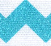 981-145 Pacific Blue Sugar Chevron Glitter Grosgrain Ribbon