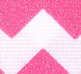 981-616 Shocking Pink Sugar Chevron Glitter Grosgrain Ribbon
