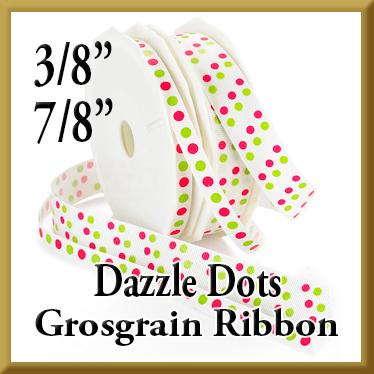 989 Dazzle Dots Grosgrain Product Image