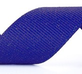 990-352 Wholesale Electric Blue Dazzle Glitter Grosgrain Ribbon