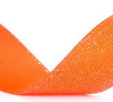 990-750 Wholesale Torrid Orange Dazzle Glitter Grosgrain Ribbon
