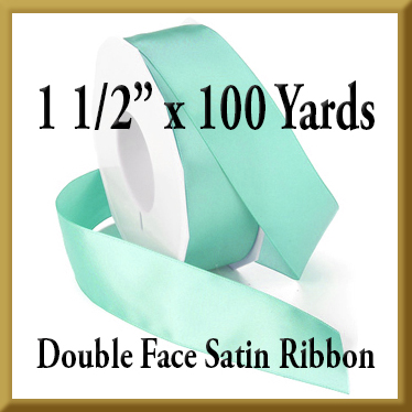 088- 1.5 x 100 yds Double Face Satin Ribbon Product Image