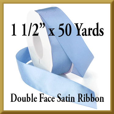088- 1.5 Inch x 50 yds Double Face Satin Ribbon Product Image