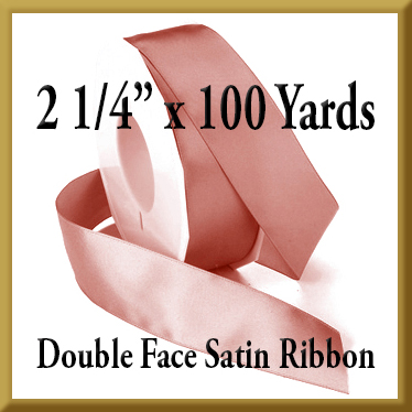 088- 2 1/4 Inch x 100 yds Double Face Satin Ribbon Product Image