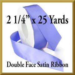 088- 2 1/4 Inch x 25 yds Double Face Satin Ribbon Product Image