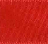 088-252 Hot Red Wholesale Double Face Satin Ribbon