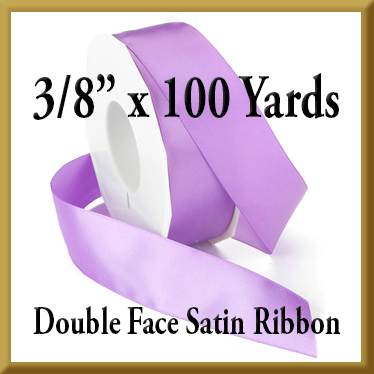 088- 3 8 x 100 yds Double Face Satin Ribbon Product Image
