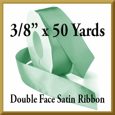 088- 3 8 x 50 yds Double Face Satin Ribbon Product Image