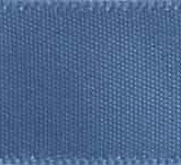 088-363 Smoke Blue Wholesale Double Face Satin Ribbon