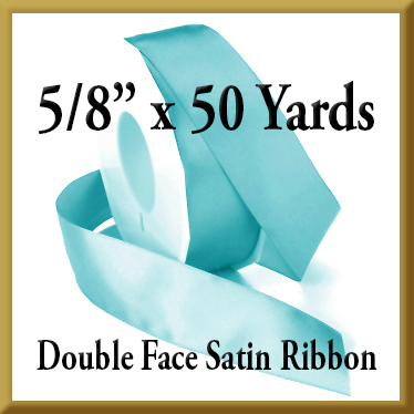 088- 5 8 inch x 50 yds Double Face Satin Ribbon Product Image