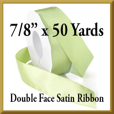 088- 7 8 inch x 50 yds Double Face Satin Ribbon Product Image