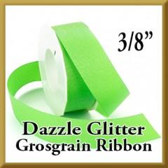 990 3 8 Inch Dazzle Glitter Grosgrain Ribbon Product Image