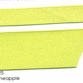 990-625 Pineapple Wholesale Dazzle Glitter Grosgrain Ribbon