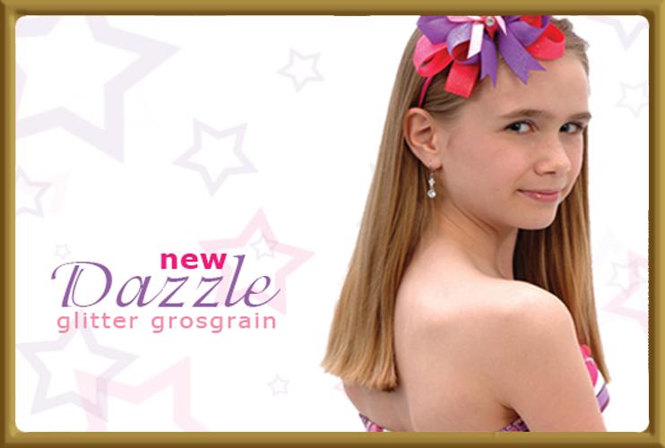 Dazzle Glitter Grosgrain