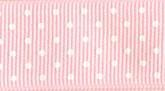 Light Pink 020 Wholesale Swiss Dot Grosgrain Ribbon