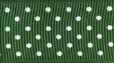 Hunter 035 Wholesale Swiss Dots Grosgrain Ribbon