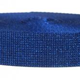 4000M Glitter Cobalt Blue 1 1/4 Inch Glitter Webbing