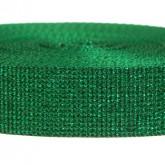 4000M Glitter Green 1 1/4 Inch Glitter Webbing