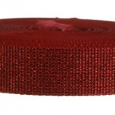 4000M Glitter Red Ruby 1 1/4 Inch Glitter Webbing