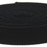 4001M Black 1 1/4 Inch 10 Yard Mini Roll