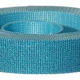 4001M Glitter Blue 1 1/4 Inch Glitter Webbing