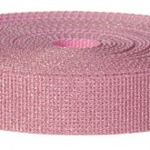 4001M Glitter Pink 1 1/4 Inch Glitter Webbing