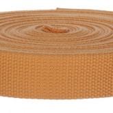 4001M Golden Tan 1 1/4 Inch 10 Yard Mini Roll
