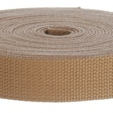 4001M Khaki 1 1/4 Inch 10 Yard Mini Roll