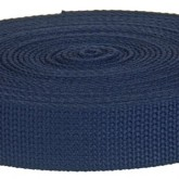 4001M Navy Blue 1 1/4 Inch 10 Yard Mini Roll