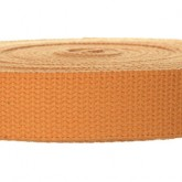 4002M Golden Tan 100% Cotton Webbing 10 Yard Mini Roll