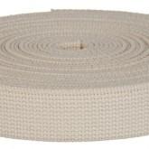 4002M Natural Field Weight 100% Cotton Webbing 10 Yard Mini Roll