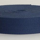 4002M Navy Blue 100% Cotton Webbing 10 Yard Mini Roll