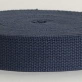 4002M True Navy Field Weight 100 % Cotton Webbing 10 Yard Mini Roll