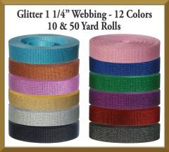 Glitter Webbing Product Image