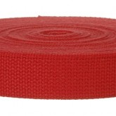 TB4002M Red Field Weight 100% Cotton 10 Yard Mini Roll