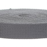 4003 Steel Gray One Inch Webbing